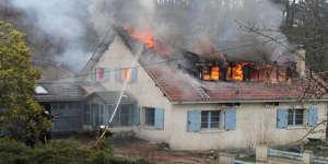 Le décès d'une femme dans un incendie