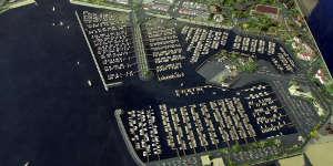 Le nouveau port de plaisance
