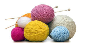 Ambiance féminine et chaleureuse pour le tricot
