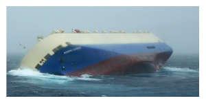 Le navire en détresse dérive vers la côte de Charente-Maritime
