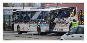 Accident de transport scolaire en Charente-Maritime