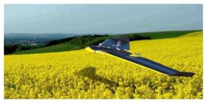 Agridrone : Un drone pour scruter les blés afin d'augmenter le rendement