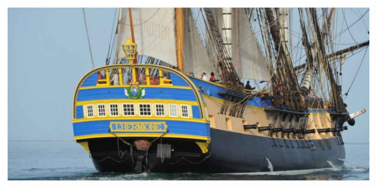 Armada de Rouen : monter à bord de l'Hermione sera payant
