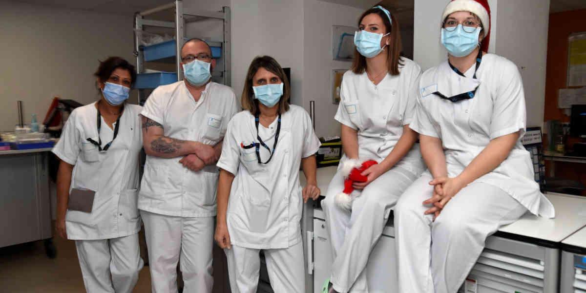 L'organisation difficile des soignants non vaccinés